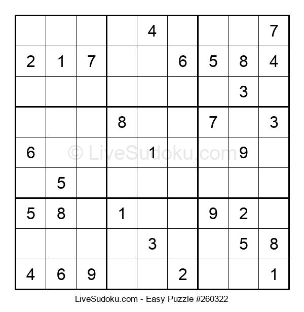 Beginners Puzzle #260322
