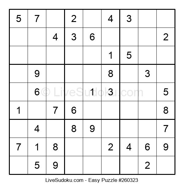 Beginners Puzzle #260323