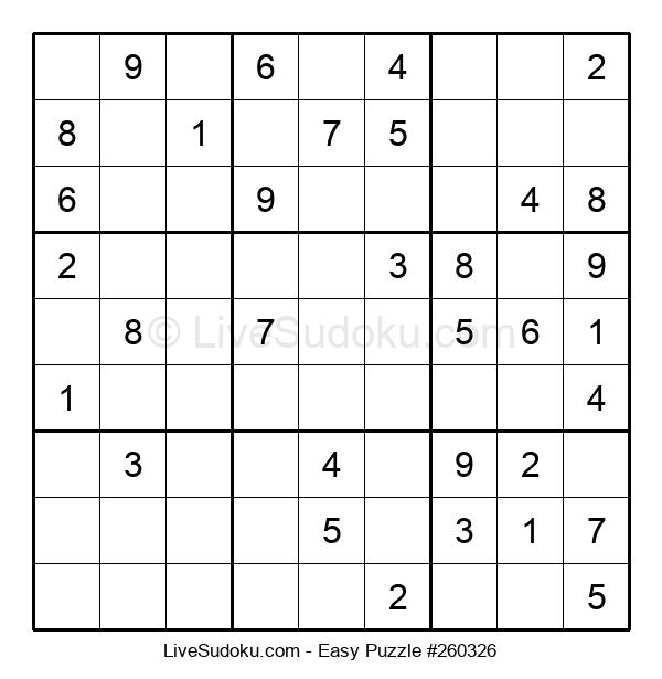 Beginners Puzzle #260326