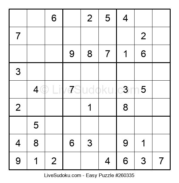 Beginners Puzzle #260335