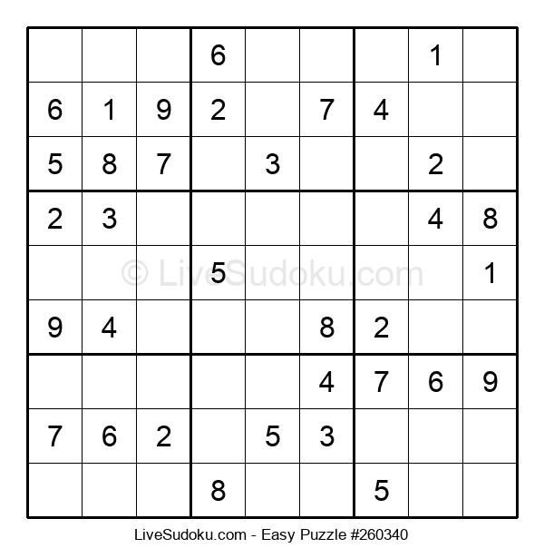 Beginners Puzzle #260340