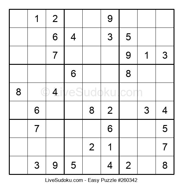 Beginners Puzzle #260342