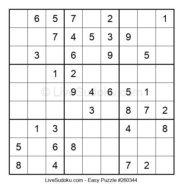 Beginners Puzzle #260344