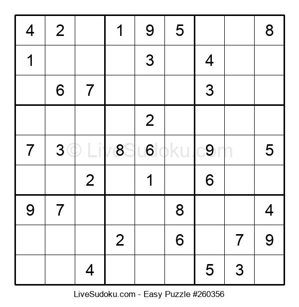 Beginners Puzzle #260356