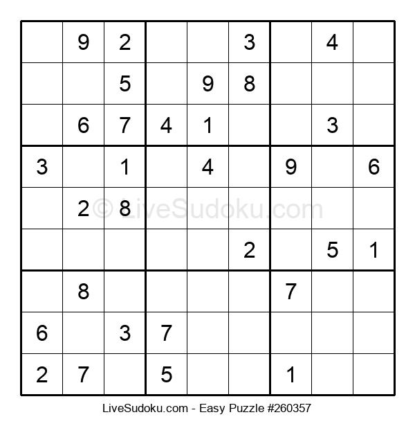 Beginners Puzzle #260357