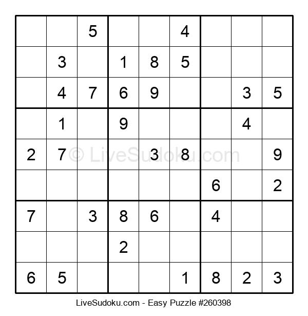 Beginners Puzzle #260398