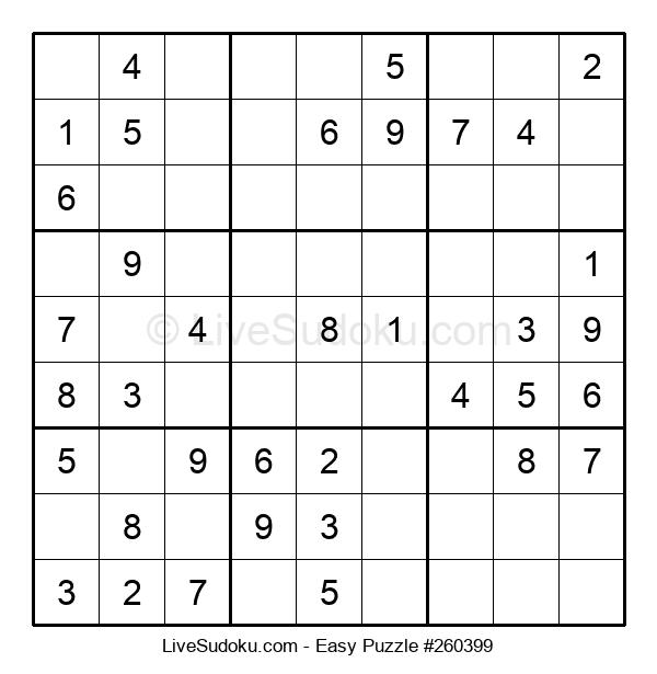 Beginners Puzzle #260399