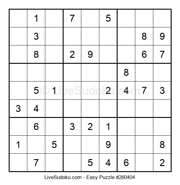 Beginners Puzzle #260404