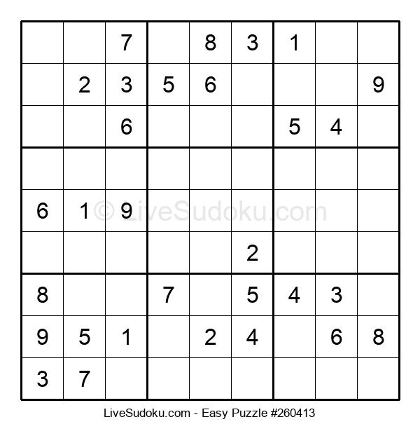 Beginners Puzzle #260413