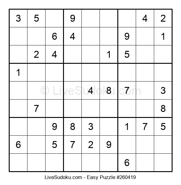 Beginners Puzzle #260419