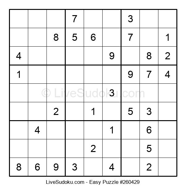 Beginners Puzzle #260429