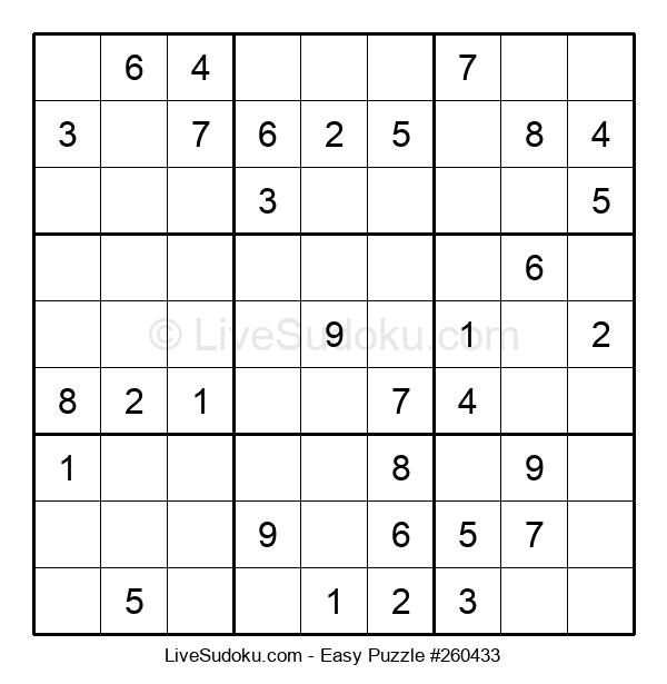 Beginners Puzzle #260433