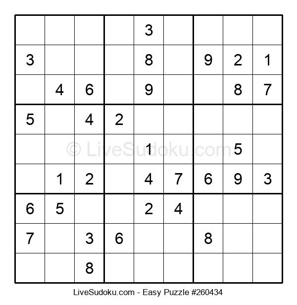 Beginners Puzzle #260434