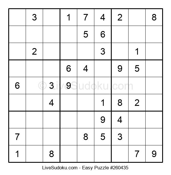 Beginners Puzzle #260435