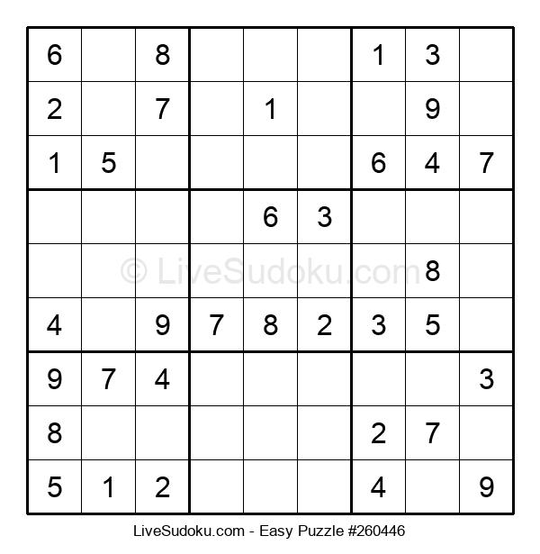 Beginners Puzzle #260446