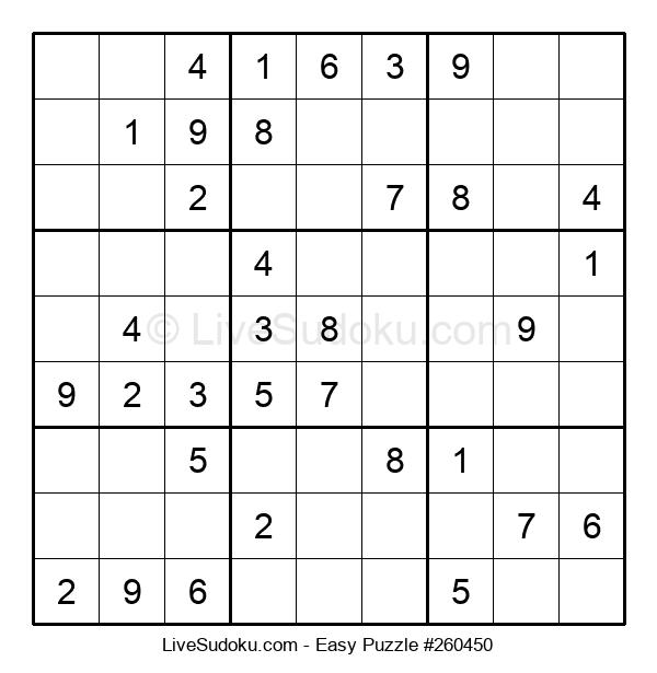 Beginners Puzzle #260450