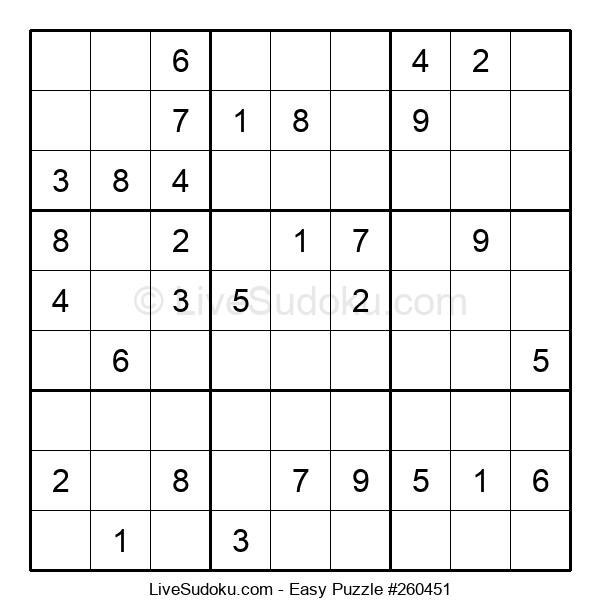 Beginners Puzzle #260451