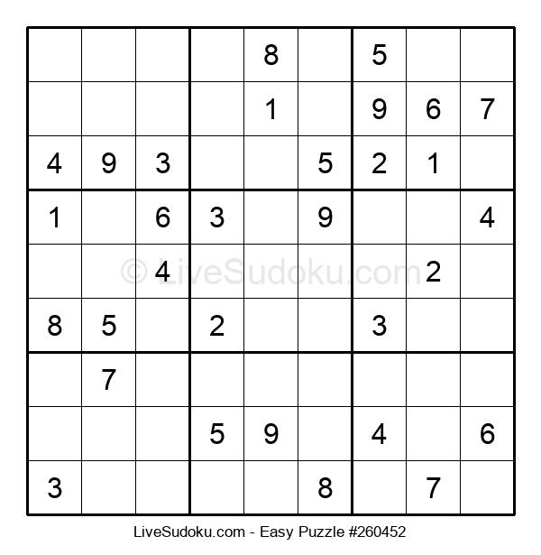 Beginners Puzzle #260452
