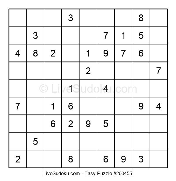 Beginners Puzzle #260455