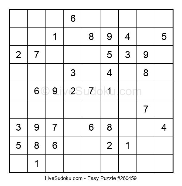 Beginners Puzzle #260459