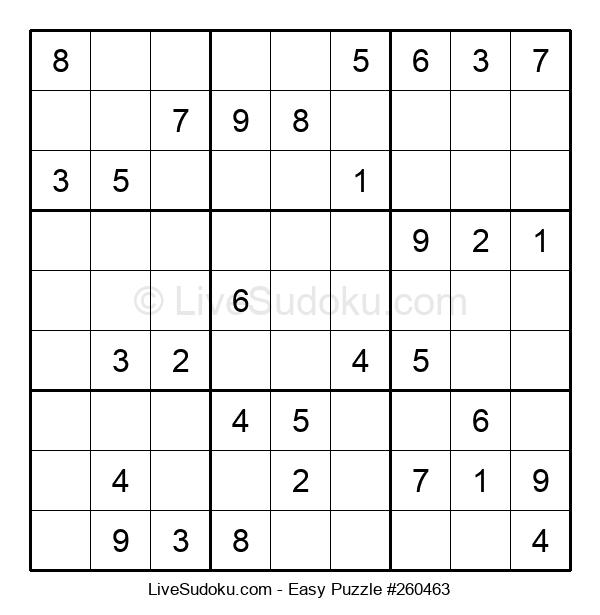 Beginners Puzzle #260463