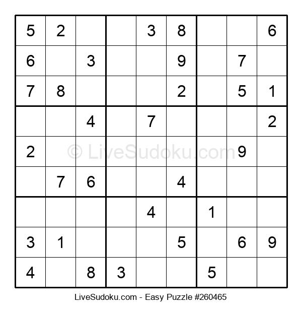 Beginners Puzzle #260465