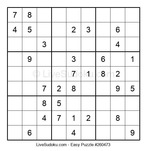 Beginners Puzzle #260473