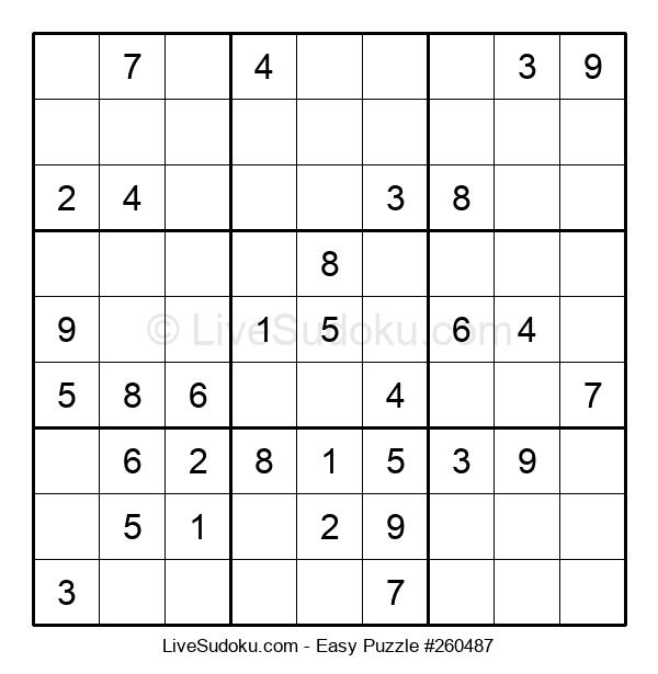 Beginners Puzzle #260487