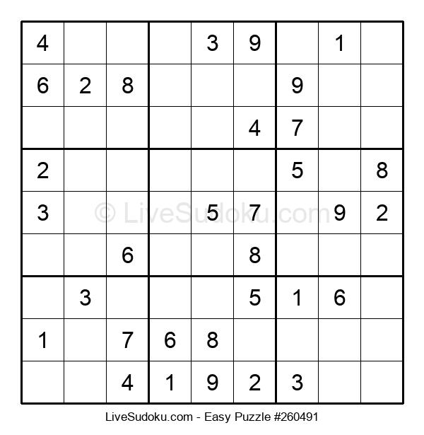 Beginners Puzzle #260491