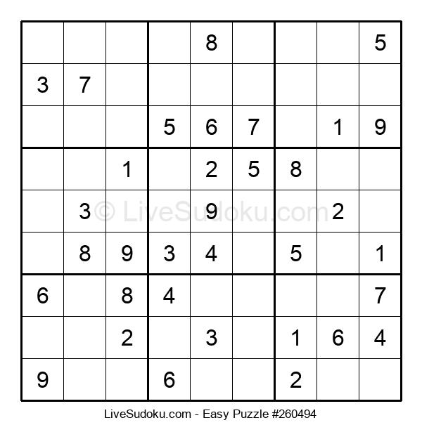 Beginners Puzzle #260494
