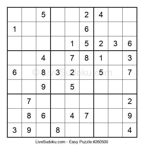 Beginners Puzzle #260500