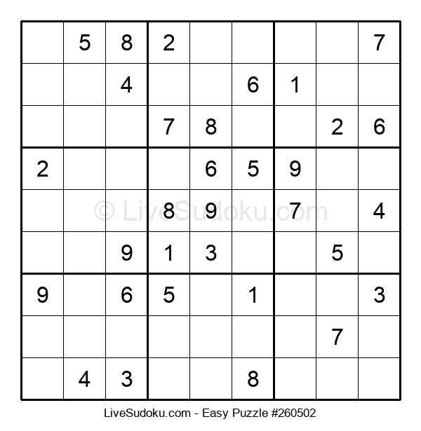 Beginners Puzzle #260502