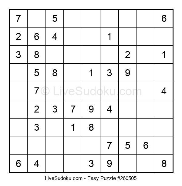 Beginners Puzzle #260505