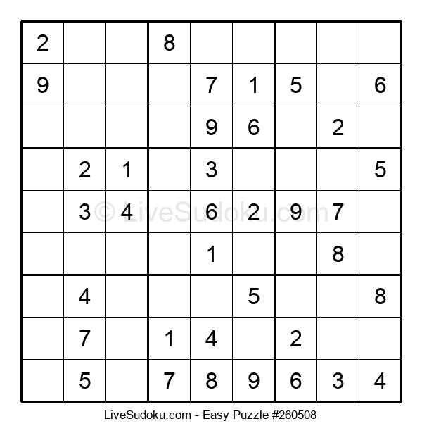 Beginners Puzzle #260508