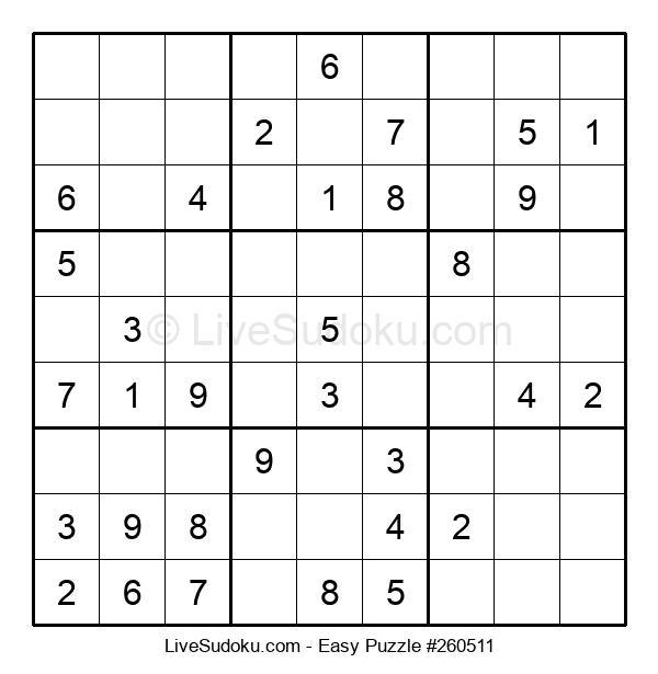 Beginners Puzzle #260511