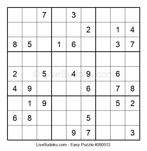 Beginners Puzzle #260512