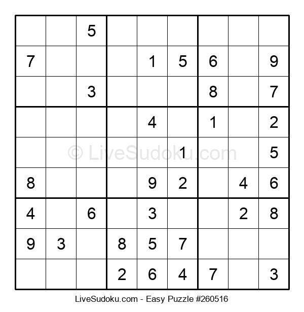 Beginners Puzzle #260516