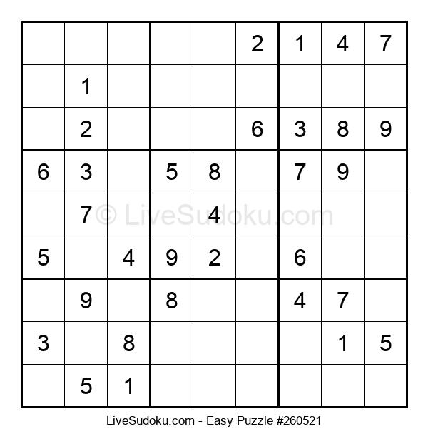 Beginners Puzzle #260521