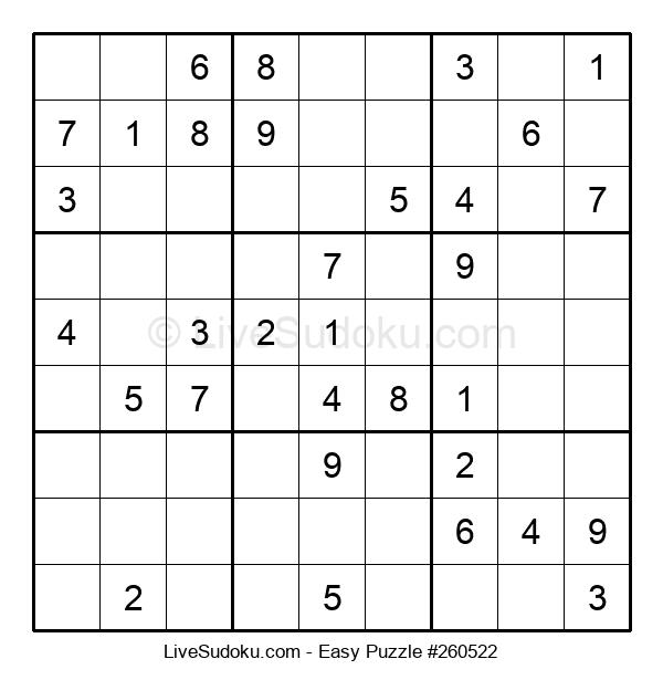 Beginners Puzzle #260522