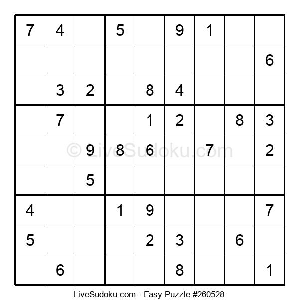 Beginners Puzzle #260528