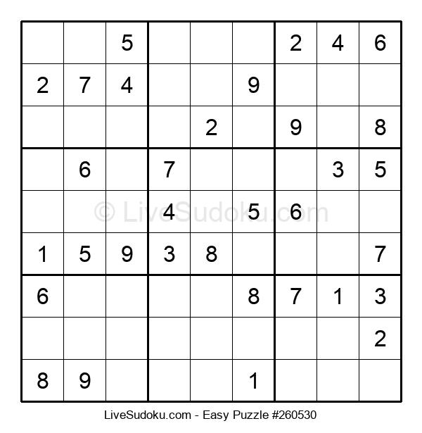 Beginners Puzzle #260530