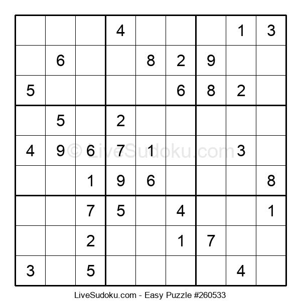 Beginners Puzzle #260533