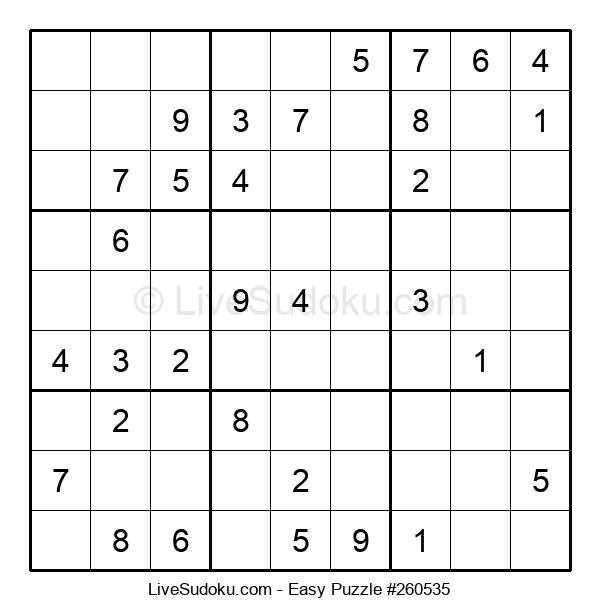 Beginners Puzzle #260535