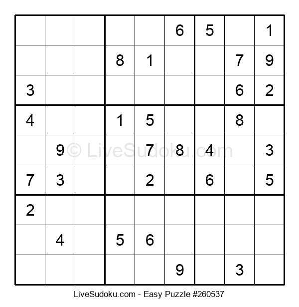Beginners Puzzle #260537