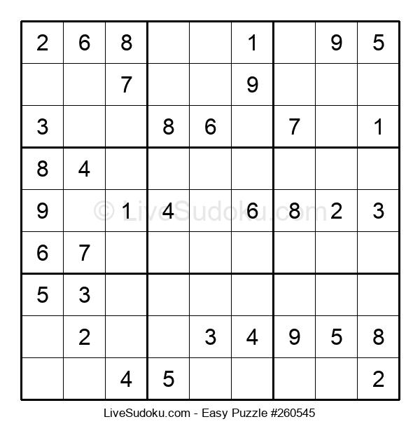 Beginners Puzzle #260545