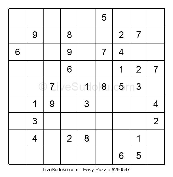 Beginners Puzzle #260547