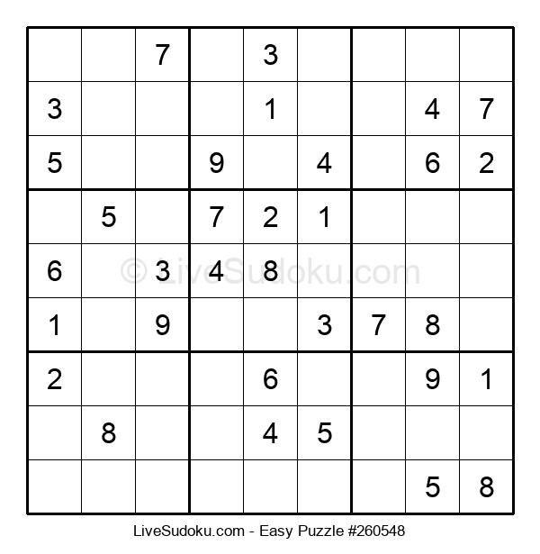 Beginners Puzzle #260548
