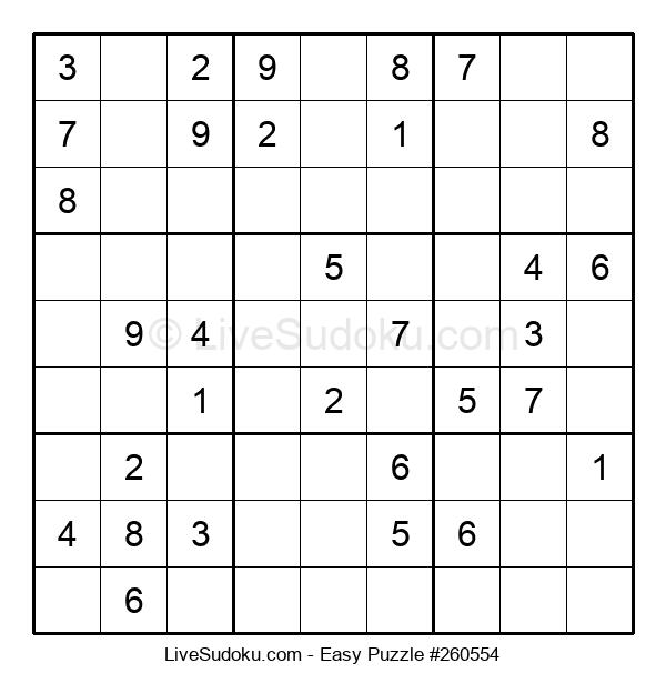 Beginners Puzzle #260554