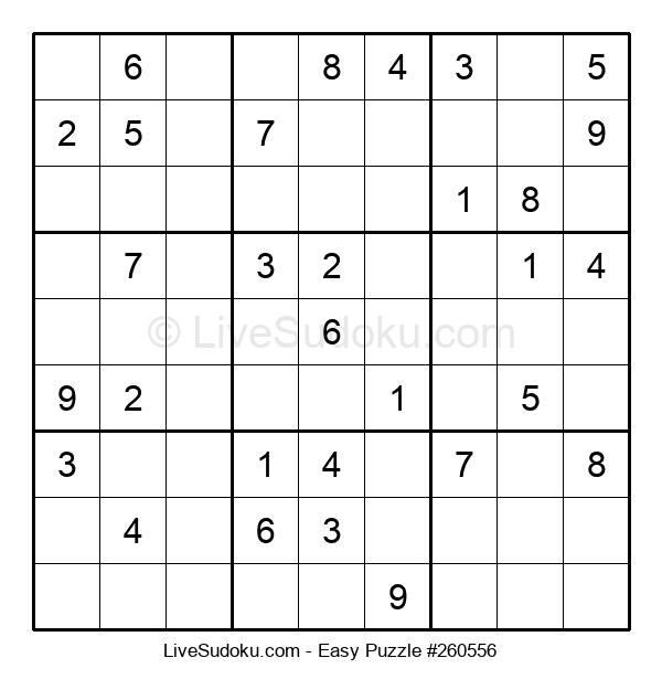 Beginners Puzzle #260556
