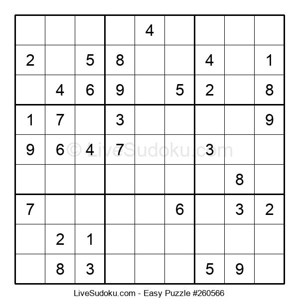 Beginners Puzzle #260566